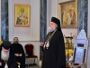 The Most Reverend Isychios welcomes guests