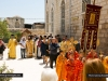 Procession thrice around the Monastery