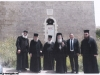 The Patriarch and His retinue in front of St George church, Shelomi