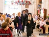Archimandrite Ioustinos with representatives of the Greek Consulate-General