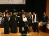 H.B. confers graduation titles