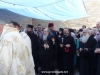 His Beatitude visits the shrine of the Ascension