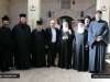 Traditional visit to the imam's house near the shrine of the Ascension