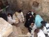 Second kneeling prayer in the Catacomb