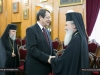 President Anastasiades and Patriarch Theophilos