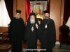 The Patriarch, the Metropolitan of Nubia and f. Narcissus