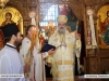 Archbishop Theodosios leads the Divine Liturgy