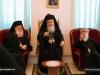 The Patriarch, the Metropolitan of Nazareth, and Archimandrite Timotheos