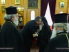 Patriarch Theophilos welcomes the Minister
