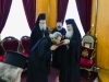 Archimandrite Theophanes offered the icon of Panaghia Jerusalemite