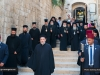 The Heads of Churches walk to the Church of the Resurrection