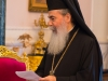 Patriarch Theophilos addresses guests