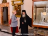 The Patriarch guides Ms Nilson through the Patriarchate