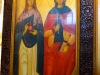 The icon of St Marcella and St Mary Magdalene