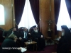The Patriarch meets with representatives of the Palestinian Autonomy