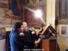 Archimandrite Eusebius, Nun Danielia and a pilgrim fro Salonica, singing