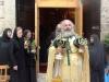 Archimandrite Philoumenos at the Divine Liturgy