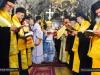 The Patriarchal Retinue sings the Engomia