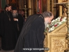 The Patriarch venerates the relic of John the Baptist