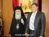 The Patriarch with the Palestinian ambassador to Ukraine