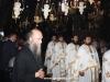 The Hegoumen, Archimandrite Nektarios and retinue