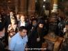 President Margvelasvili enters the Holy Sepulchre