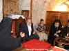 President Margvelasvili and his wife in the Sacristan's Office