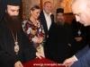 The President with the Elder Sacristan and f. Nikolaos