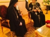 Patriarch Theophilos visits Patriarch Theodoros of the Coptic Church