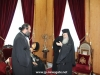 The Patriarch offers Jerusalemite eulogias