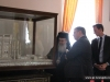 The Patriarch shows Mr Blome around the Patriarchate