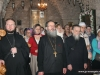 Pious pilgrims at the Monastery of the Archangels