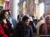Pious pilgrims and members of the parish