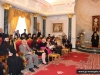 Diplomats and His Beatitude in the Hall of the Throne