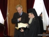 "His Beatitude presents the ""History of the Church of Jerusalem"" book"