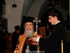 The Patriarch officiates at the Central Monastery