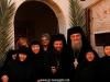 Archimandrite Ignatios and Makarios with nuns