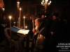 The Patriarch reads the Salutations of St Savva