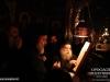 Fr. Aristovoulos sings in Greek