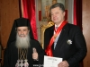 Patriarch Theophilos and the Ukrainian President