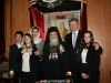 The Patriarch with Mr Poroshenko and his family