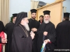 The Patriarch distributes gifts to children