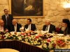 His Beatitude with President Mahmoud Abbas at lunch