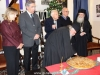 Archbishop Aristarchos cuts St Basil's pie