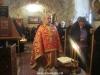 Archimandrite Claudius during the breaking of bread