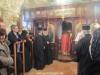 The Patriarchal Entourage proceeds to venerate