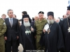 H.B. with the Elder Chrysostomos, the Greek Consul-General and military authorities