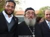 Elder Chrysostomos and student Yanam from Nablus