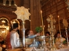 His Beatitude performs the Blessing rite