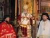 Metropolitan Isychios with Archimandrites Makarios and Antonios